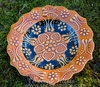 Golden Harvest ~ Hand-Made Candle Plate