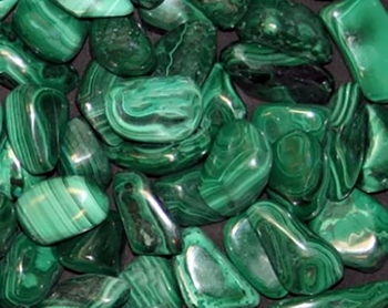 Malachite Tumbled Gemstone