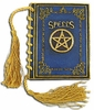 Mystical Blue Blank Spell Book - Large