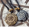 Pentacle of the Ancients - Bone Necklace