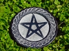 Pentacle of the Green Witch Altar Tile