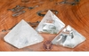 Quartz Gemstone Pyramid 20-30mm - ONLY 3