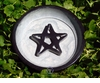 Raised Pentacle Incense Dish