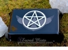 Raven Pentacle ~ Glass Tarot Box