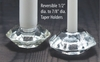 Reversible Glass Candle Holder - Mini's + Tapers