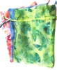 Rose Butterfly Organza Pouch