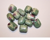 Ruby Zoisite Tumbled Crystal Gemstone