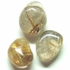 Rutilated Quartz Tumbled Crystal Gemstone