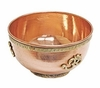 "Sacred Symbol ""OM"" Copper Offering Bowl"