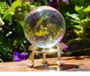 Scrying Sphere ~ 60mm Clear with Stand