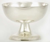 Silvery Triquetra Chalice Offering & Scrying Bowl
