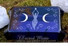 Spirit Goddess ~ Glass Tarot Box
