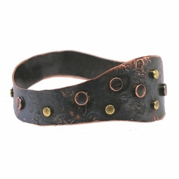 Studded Copper Cuff of Powerful Healing ~ Only 1