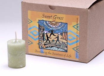 Sweet Grass World Magick Votive