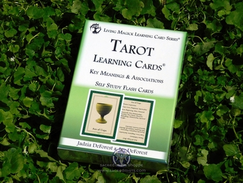 Tarot Learning Cards - Self Study Flashcards Deck