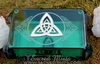 Triquetra ~ Glass Tarot Box