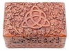 Triquetra of Growth Wooden Box