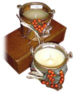 True &  Natural Bayberry Wax Candles