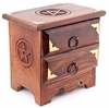 Two Drawer Pentacle Altar Chest