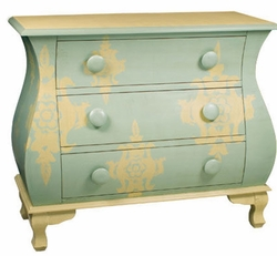 ANIMAL DAMASK CHEST