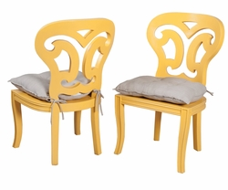 Artifacts Side Chair (Sunflower) (one pair)