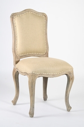 Cannes Side Chair  (Hemp-Limed Grey Oak) - one pair