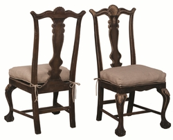 Chippendale Chairs (pair)