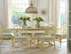 """Cohasset Double Pedestal Dining Table - 70"""""""