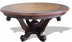 Eclectic Round Dining Table
