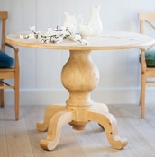 Galway Coast Pedestal Dining Table (Large)