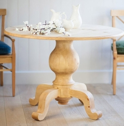 Galway Coast Pedestal Dining Table (Medium)