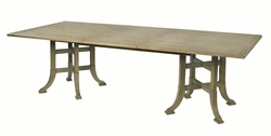 Garrett Double Pedestal Dining Table