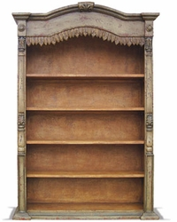 Hand Painted Stockholm Bookcase