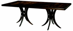 Kingston Double Pedestal Dining Table