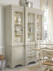 Lake Norman Breakfront Cabinet