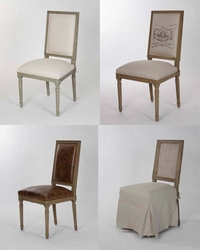 Louis Side Chairs - one pair