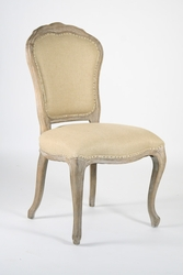Lyon Side Chair (Hemp-Limed Grey Oak) - one pair
