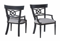 Manse Dining Arm Chairs (one pair)