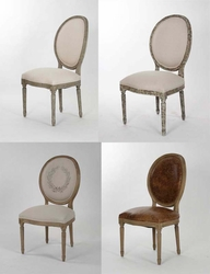 Medallion Side Chairs - one pair