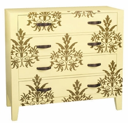 MORNING DAMASK CHEST
