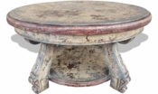 Old World French Coffee Table, Round