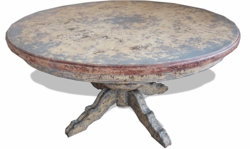 Old World French Dining Table Round