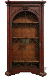 Old World Spanish Bookcase