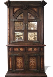 Old World Tuscan Cabinet