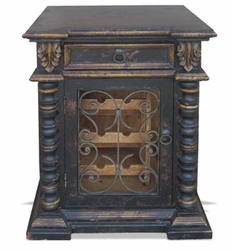 Old World Wine Cabinet