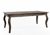 Rhone Oak Dining Table (Limed Charcoal)