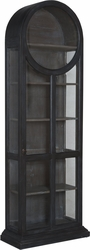 Round Top Display Cabinet