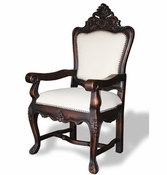 Spanish Carved Arm Chair (one pair)