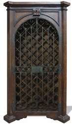 Traditional Tuscan Wine Cabinet