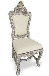 Tuscany Hand Carved Dining  Chair (one pair)